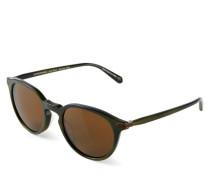 Sonnenbrille 'Rue Morbeuf' Grün/Braun