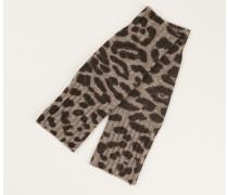 Cashmere Handschuhe 'Jane' Taupe Jaguar