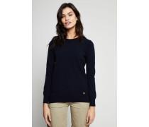 Cashmere-Pullover 'Bella' Marineblau