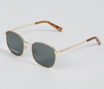Polarisierte Sonnenbrille 'Neptune' Gold/Khaki