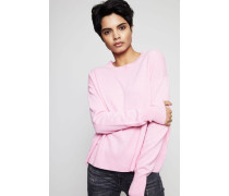 Oversized Cashmere Pullover Pink