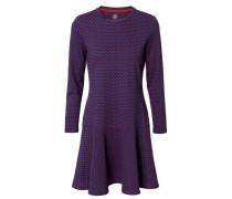 Print-Kleid 'Jenny' Blau/Multi