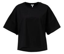 Oversized T-Shirt mit Logo-Patch