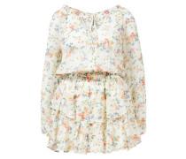 Minikleid 'Popover' mit floralem Muster /Multi
