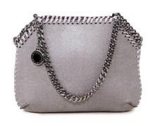 Umhängetasche 'Mini Shoulder Bag Shine' Light Grey