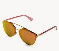 Verspiegelte Sonnenbrille 'Reflected' Rosé Gold
