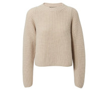 Grobstrick-Cashmere-Pullover 'Adele' Natur