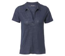 T-Shirt 'Polo' Dunkelblauméliert