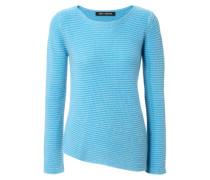 Grobstrick-Pullover 'Sandra' Mittelblau