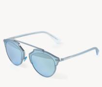 Verspiegelte Sonnenbrille 'So Real' Blau