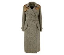 Woll-Seiden-Mantel