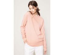 Klassischer Pullover 'Nalon Face' Pale Pink