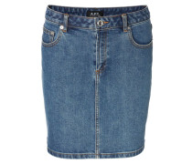 Jeans-Minirock 'Jupe Standart' Blau