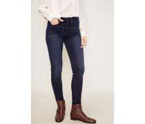 High-Rise-Jeans 'Jen' Dunkelblau