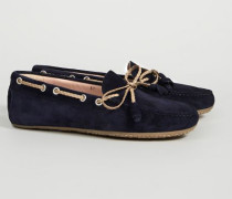 Veloursleder Loafer Marinebau
