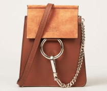 Schultertasche 'Faye Small Bracelet' Midnight Tabacco