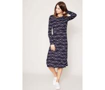 Kleid mit Print 'Giovanna Dress' Marineblau