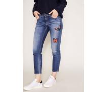 Jeans 'Piper' Blau/Multi