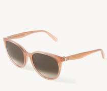 Sonnenbrille 'Thin Mary' Antique Rosé
