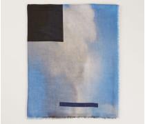 Tuch mit Gemälde-Print Multi