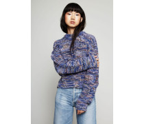Grobstrickpullover 'Zora' Blue Mix