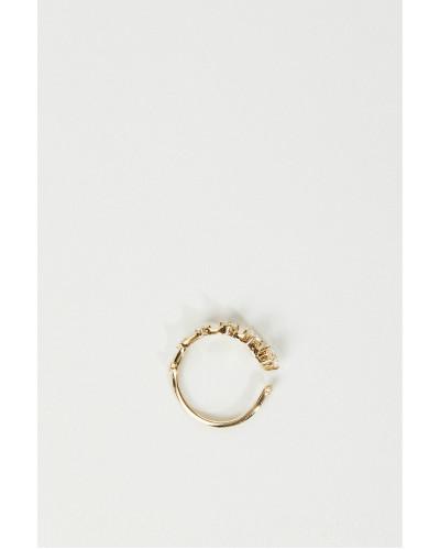 Ring 'Sequence Band' Mit Diamanten 18k Gelbgold