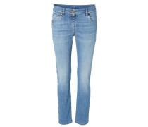 Klassische Jeans Hellblau