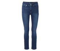 Skinny-Jeans 'Jennice' Mittelblau