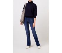 Bootcut-Jeans 'Lisha' Blau
