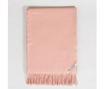 Klassischer Wollschal 'Canada' Pale Pink