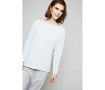 Leichter Baumwoll-Pullover Acqua