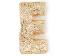 Anhänger 'Sparkly Letter E' 18K Gelbgold