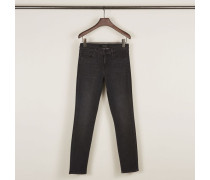 Mid Rise Skinny Jeans 'Fascination' Anthrazit