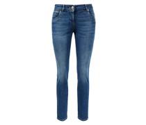 Slim Fit Jeans mit Monili-Detail
