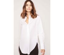 Baumwoll-Bluse 'Cloe' Weiß