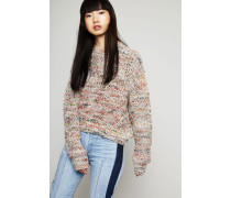 Grobstrickpullover 'Zora' White Mix