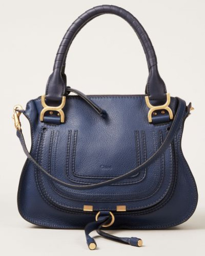 Umhängetasche 'Marcie Saddle Small' Blau