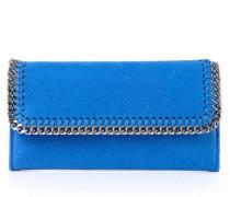 Portemonnaie mit Ketten-Umrandung Blau