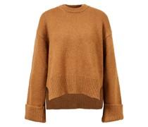 Merino-Woll-Seiden-Pullover 'Leon' Camel