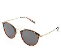 Sonnenbrille 'Remick' Braun/Gold
