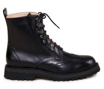 Glattleder Boots 'Hiking'