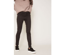 Mid Rise Super Skinny Jeans Dark Charcoal