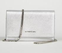 Tasche 'Pandora Chain Wallet' Silber