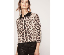Doubleface Cashmere-Blazer 'Peppina' Natur Jaguar