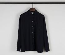 Oversize-Bluse Marineblau