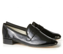 Lackleder-Loafer 'Michael' Schwarz