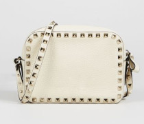 Umhängetasche 'Rockstud Camera Bag' Light Ivory