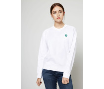 Sweatshirt 'Jess' Weiß
