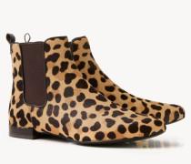 Stiefelette 'Orsay' Leopardenprint