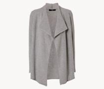 Offener Cashmere-Cardigan Soft Grey